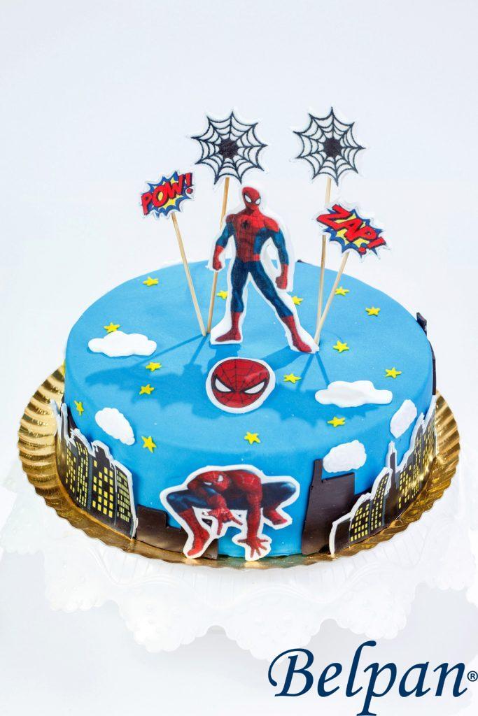 tort spiderman copii baieti