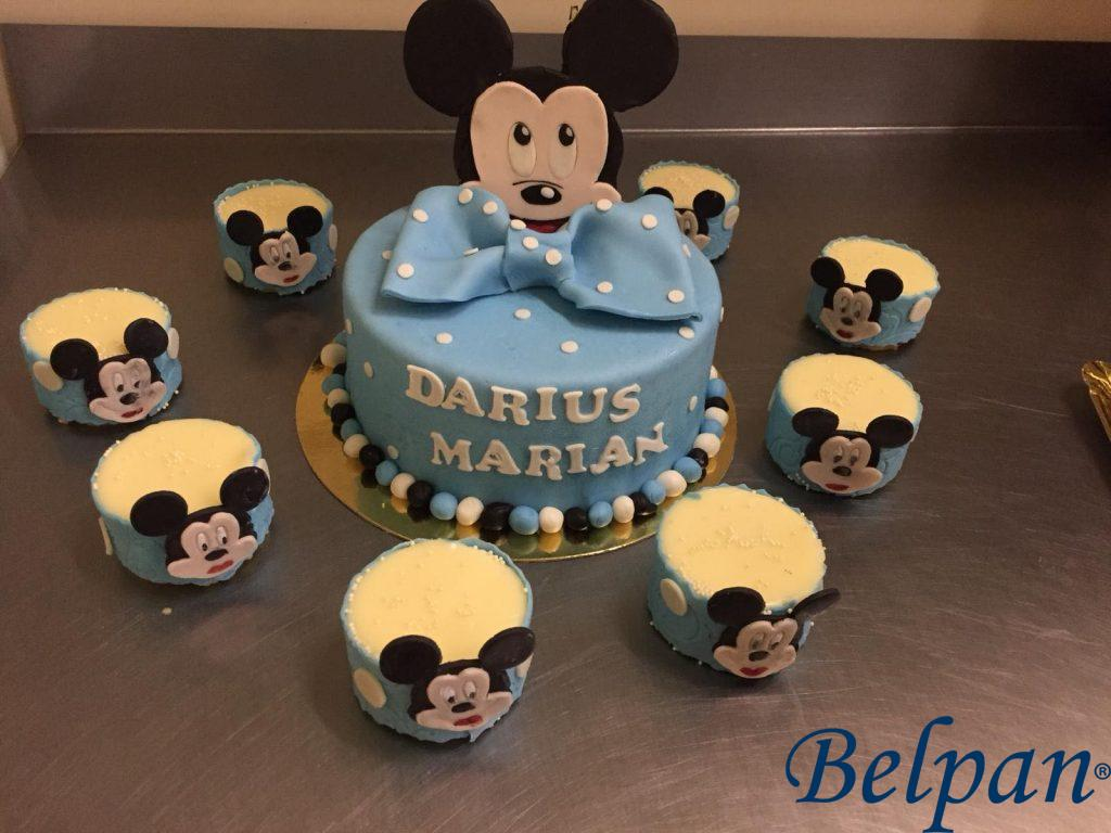 Minitorturi Mickey Mouse